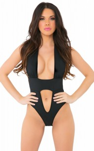 Pink Lipstick - 20026 Take The Plunge Bodysuit