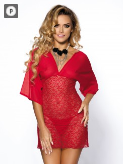 Anais - Lorna Red Chemise