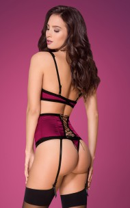 Obsessive - 861-SEG-5 Sexy Set With Garter Belt