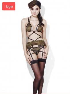 Fever - 40090 Army Private Camouflage Bra Set