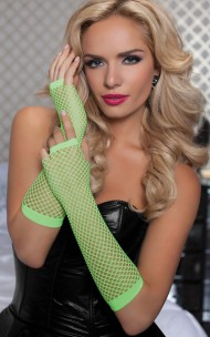Seven 'Til Midnight - 40121 Fishnet Gloves