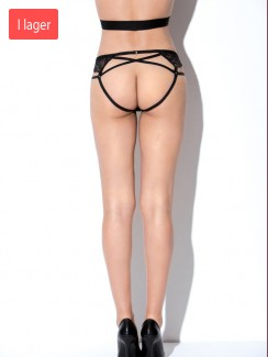 Hauty - 1417 Lace Open Back Panty