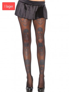 Leg Avenue - 7931 Laughing skull pantyhose