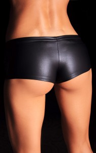 7heaven - Emilie Black Supersexiga Stretchiga Svarta Shorts