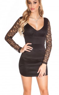 Forever Sexy - 9019 Sexy Dress With Lace