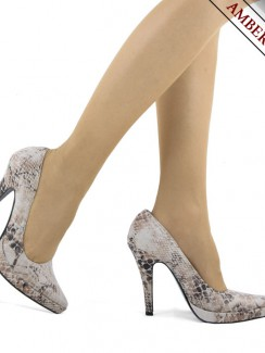 Hollywood Heels - högklackade skor Lizzie Beige High Heels 5