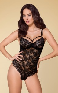 Obsessive - 860-TED Lace Teddy