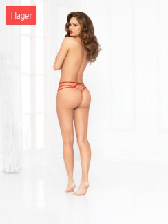 Seven 'Til Midnight - 10947 Heart Mesh Thong