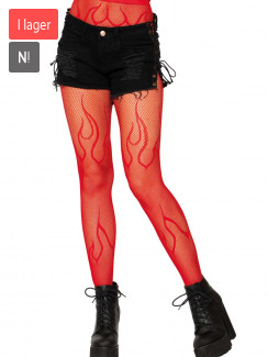 Leg Avenue - 9288 Flame Net Pantyhose